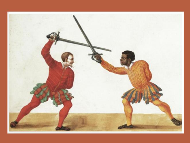 Duello Spada da Lato De arte athletica