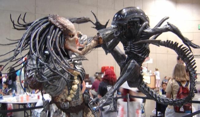 alien vs predator xenomorph yautja