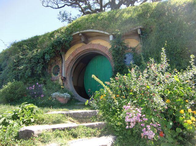 buco hobbit signore degli anelli hobbiton
