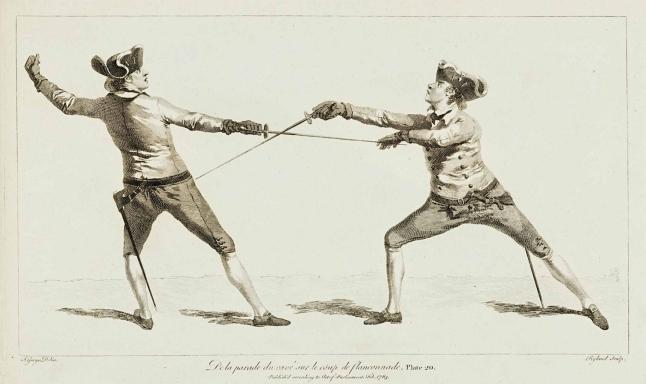 the school of fencing spadino smallsword duello onorevole