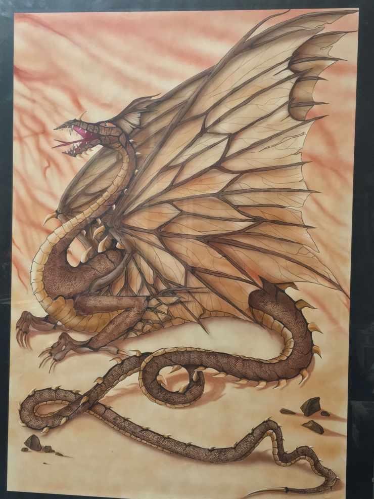 drago dragone fantasy gloria ricci