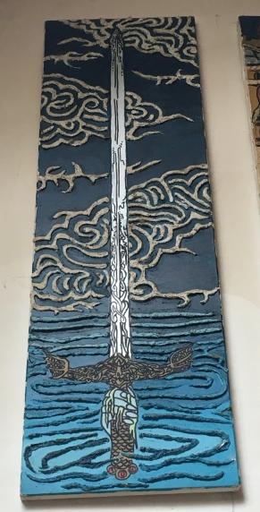 escalibur dama del lago gloria ricci
