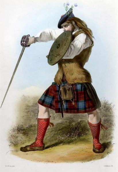 claymore scozzese clan mc callahan