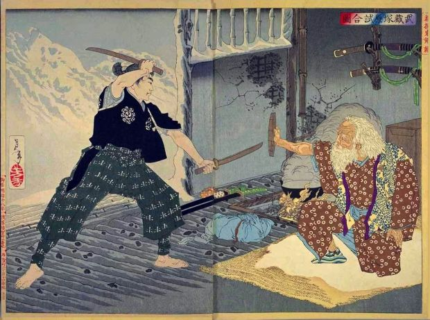 miyamoto musashi bokuden dual wielding
