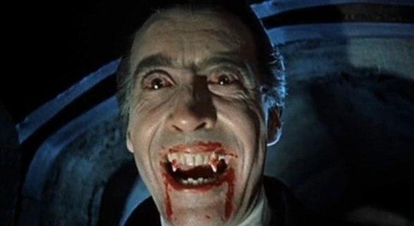 vampiro dracula christopher lee