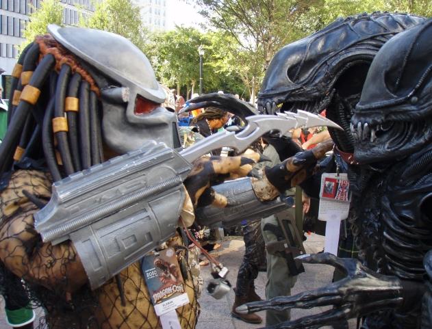 predator yautja artigli cosplay