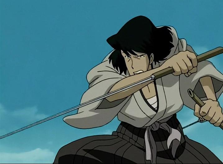 goemon ishikawa lupin katana shirasaya zantetsu ken