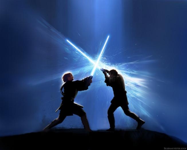 spada laser duello lightsaber lightsabre