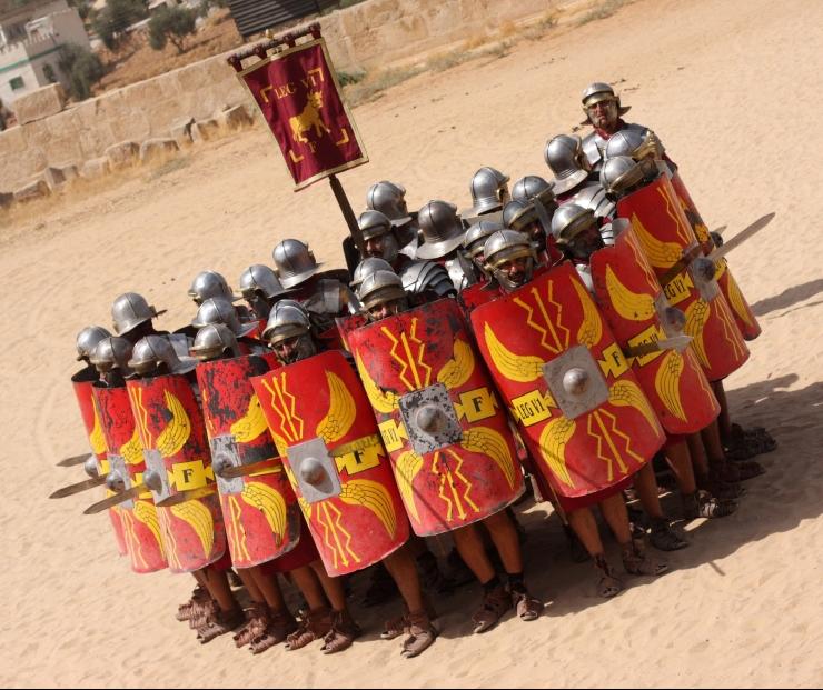 legionari romani gladio esercito romano spada perfetta