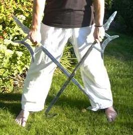 spade a uncino cinesi shaolin la spada perfetta