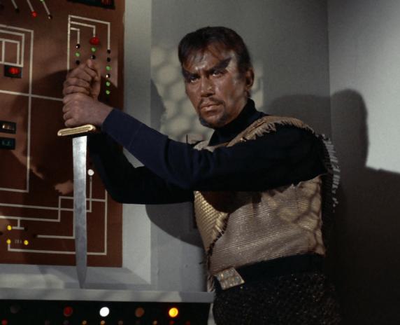 klingon star trek spada