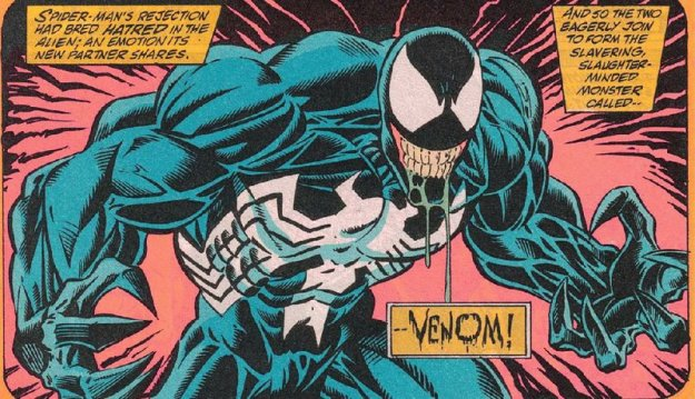 venom marvel spider man cartone animato fumetto