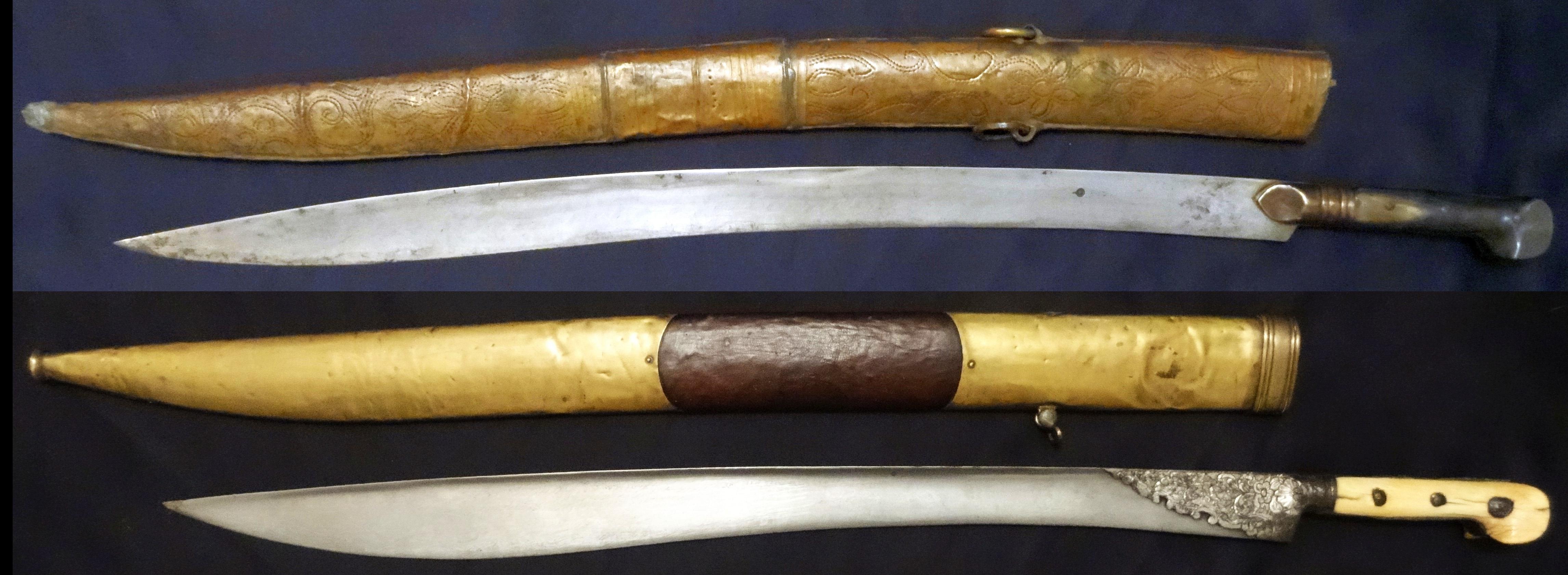 yatagan yataghan turco ottomani la spada perfetta
