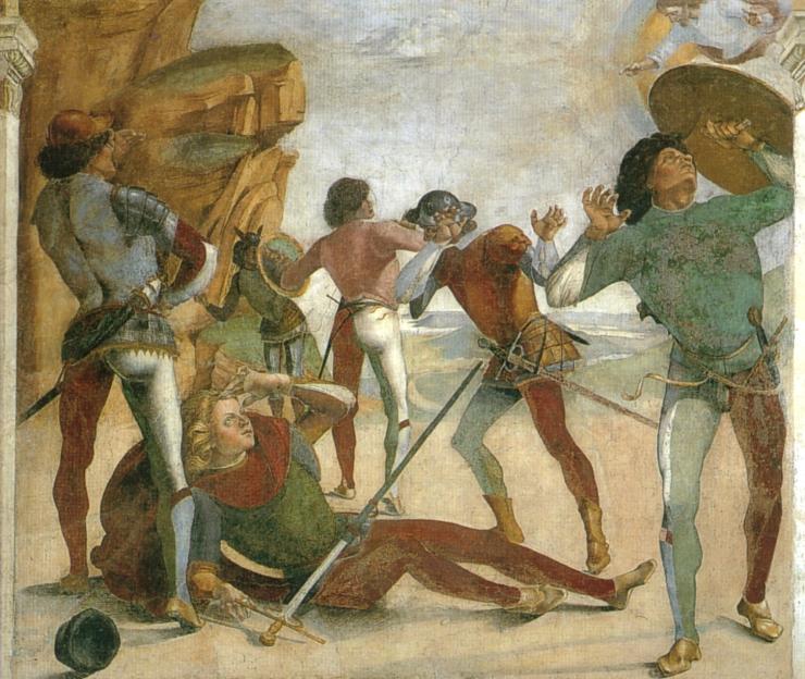 luca signorelli conversione di san paolo la spada perfetta spada da lato
