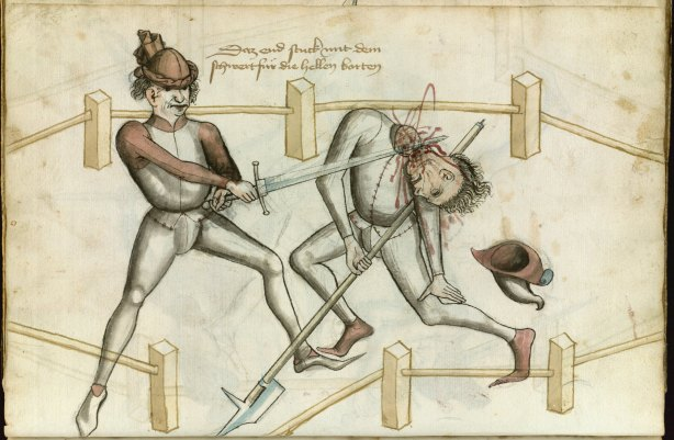 talhoffer manoscritto trattato scherma storica decapitazione