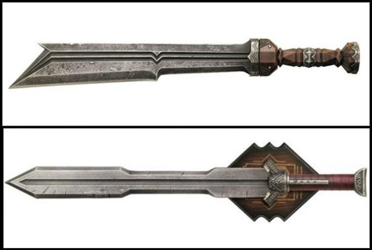 spade nani lo hobbit fili kili thorin