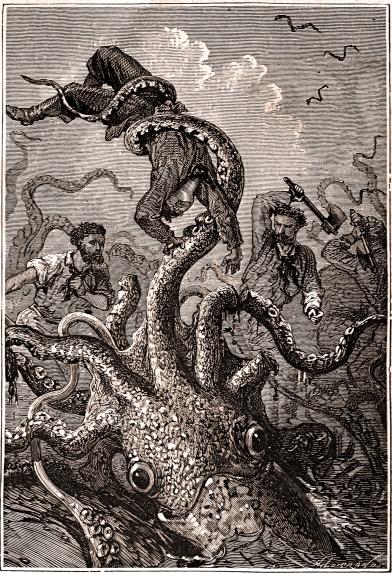 la spada perfetta lovecraft calamaro gigante