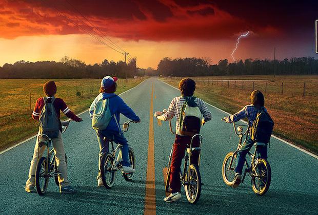 stranger things gruppo bici