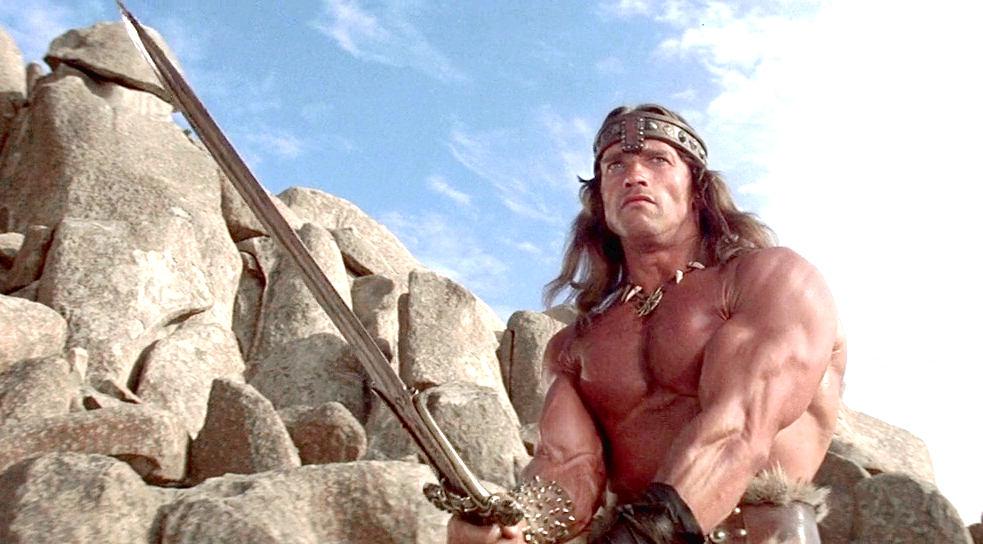 la spada di conan il barbaro