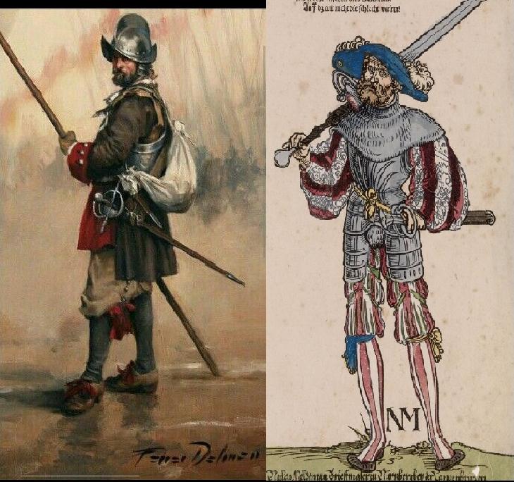 conquistadores vs landsknecht