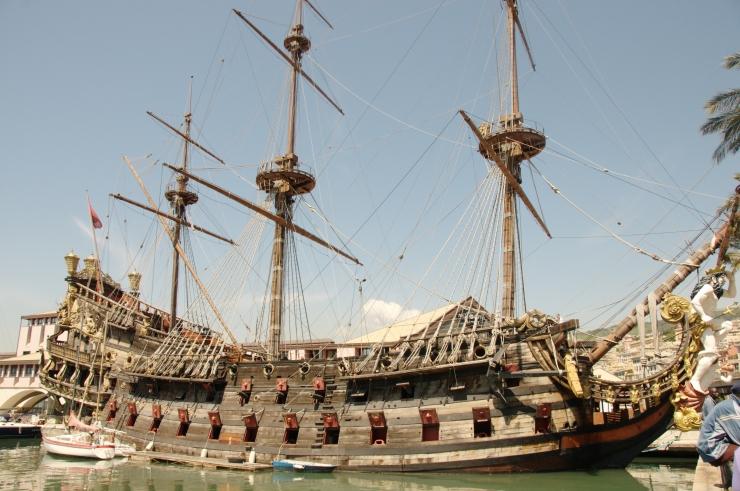 galeone pirata la spada del destino