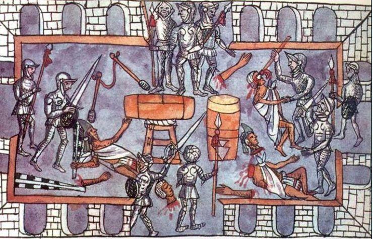 Assedio-Tenochtitlan-Codex Duran-1521-1530