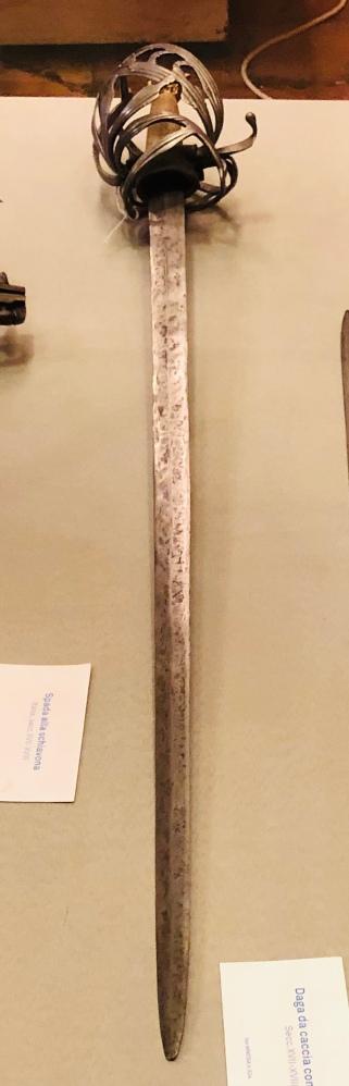 Schiavona al Museo della Rocca di Gradara - Ph. Samuele Pareschi