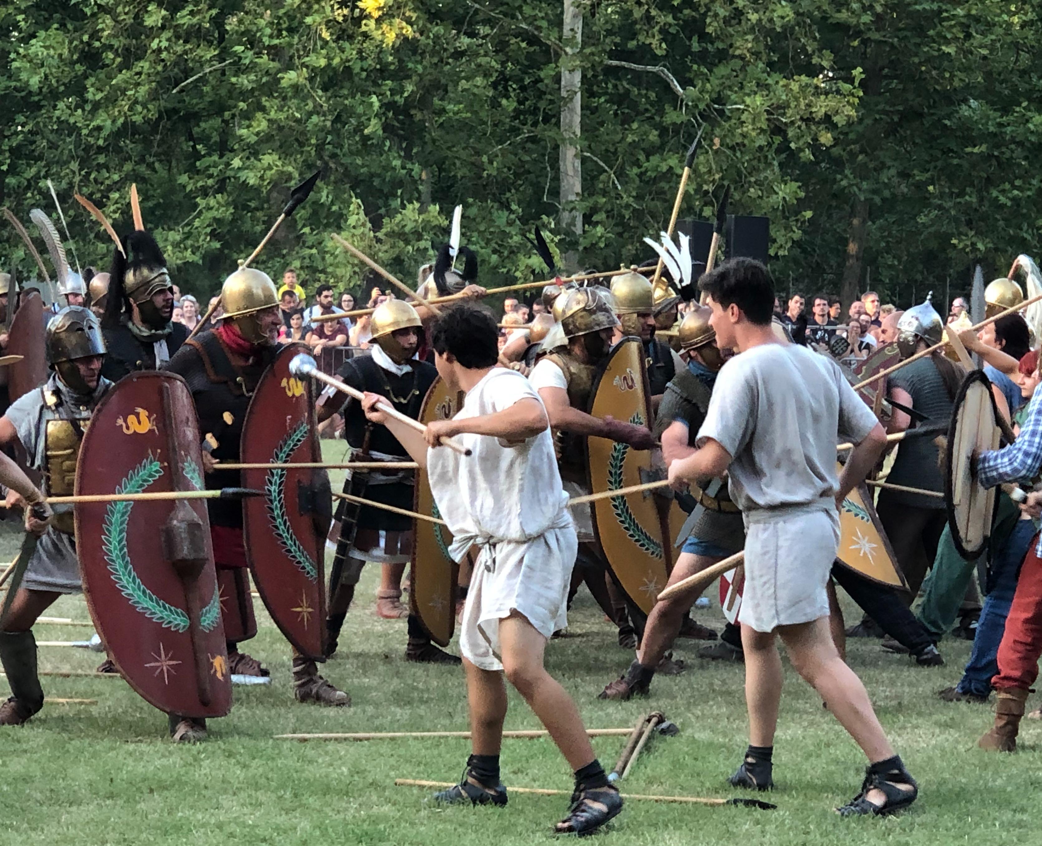druidia battaglia celti e romani