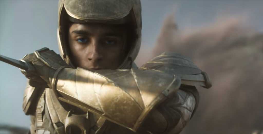 dune-paul atreides-golden-armor