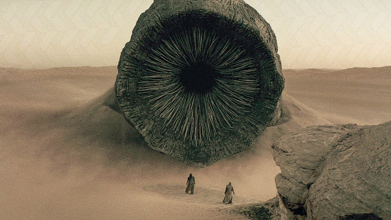 dune sandworm verme delle sabbie